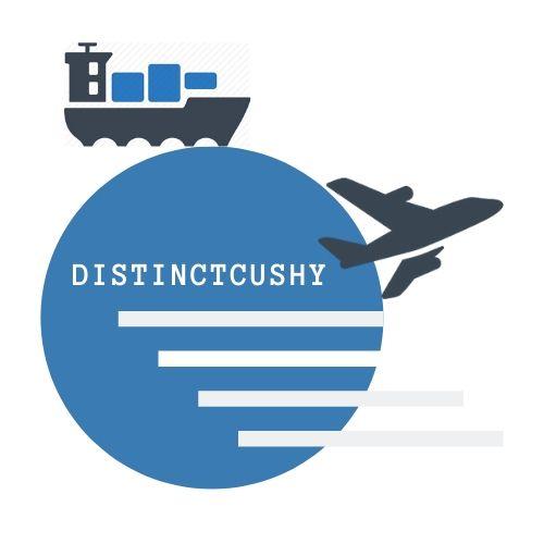 distinctcushy freight logo